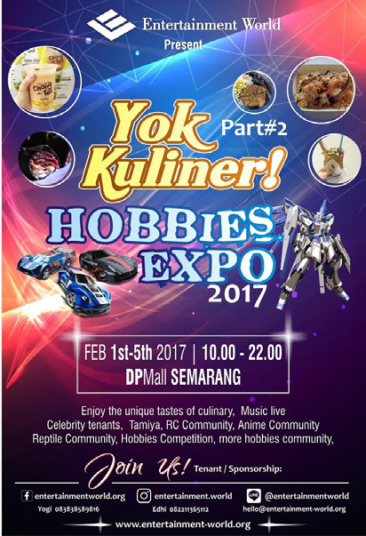 YOK KULINER & HOBBIES EXPO #2