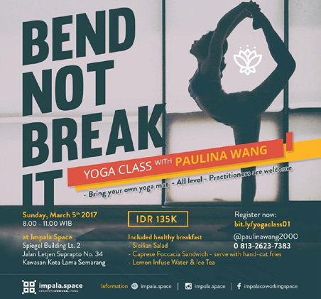 BEND NOT BREAK IT