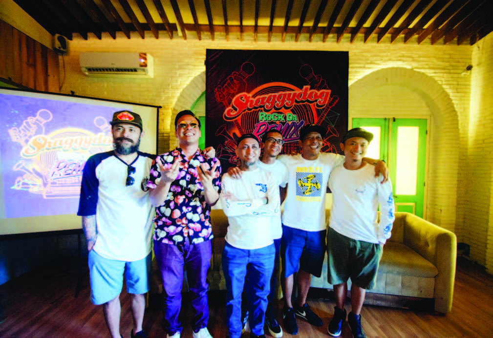 SHAGGY DOG LUNCURKAN MINI ALBUM