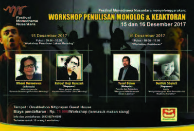 next-workshop penulisan monolog